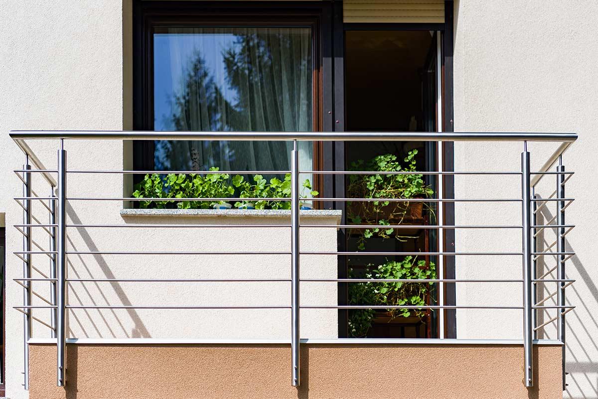 Balkon Vor Regen Schützen schweißen žustal d o o
